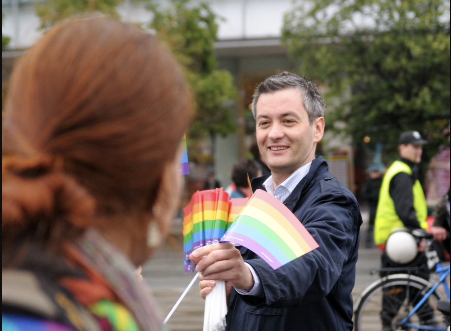 Robert Biedroń: LGBT activist and ex-mayor, who runs for president for the left-wing party in Poland