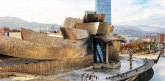 Workers from Mondragón built the roof of the famous Guggenheim Museum in Bilbao, in the Spanish Basque Region