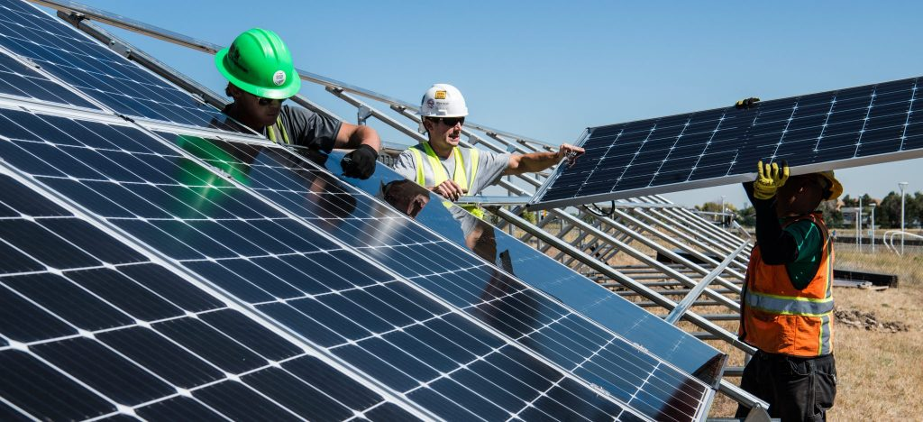 A large part of Cleveland is powered by the green storm of Evergreen Solar panels.