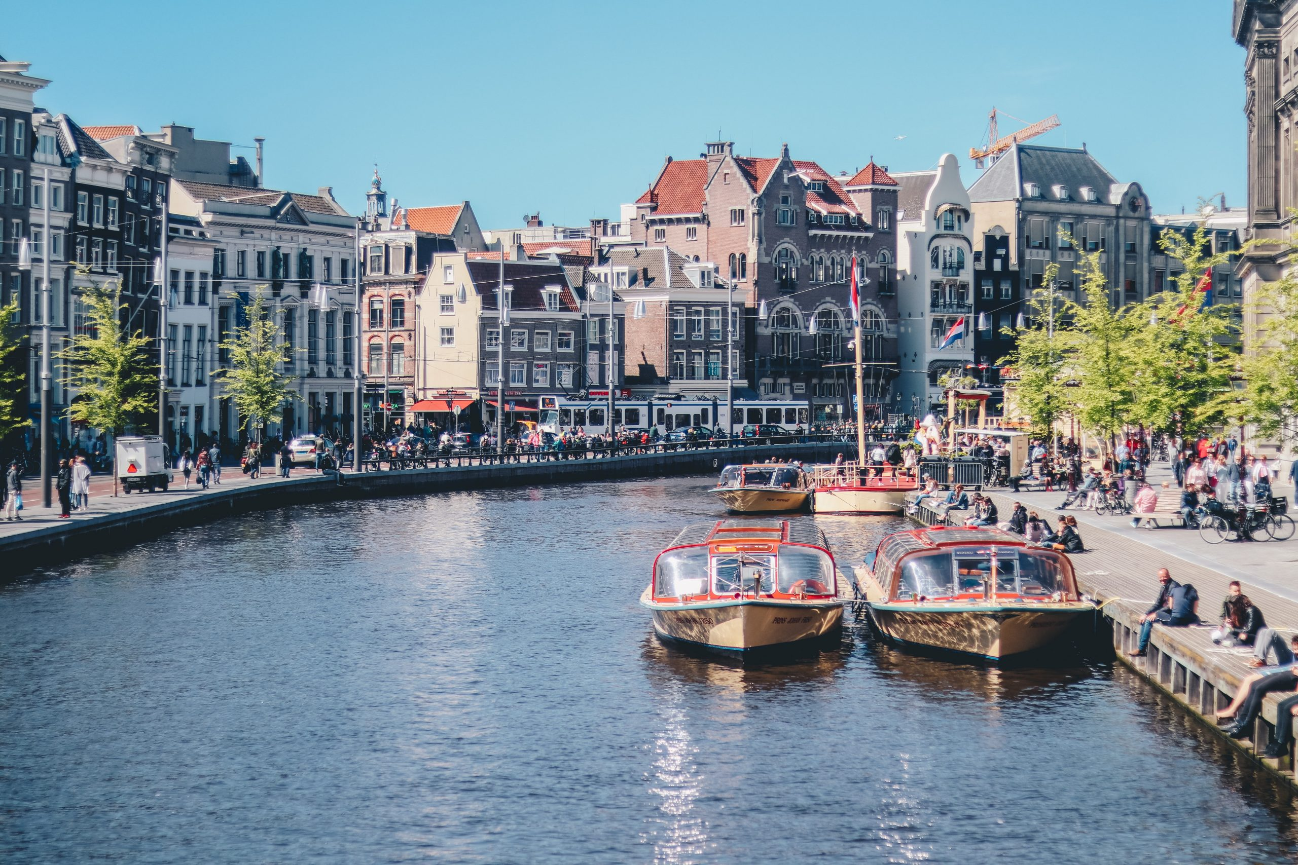Amsterdam is the first city to implement economic change with the doughnut model