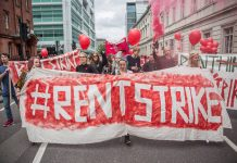 UK student rent strike