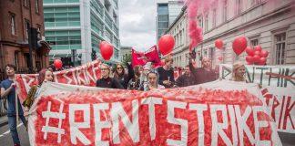 UK student rent strike