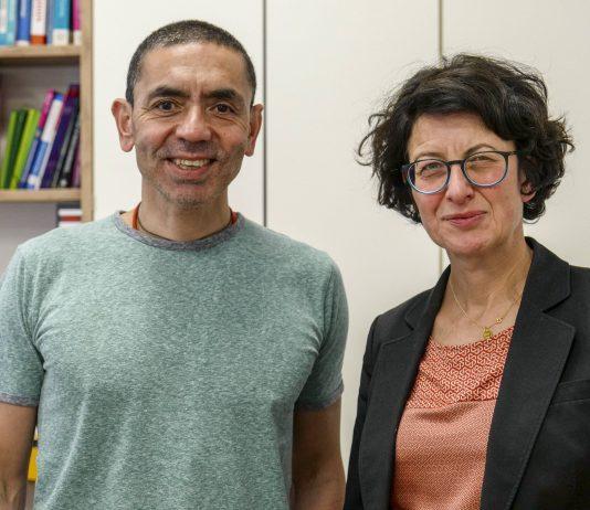 Ugur Sahin and Özleme Türeci found a corona vaccine