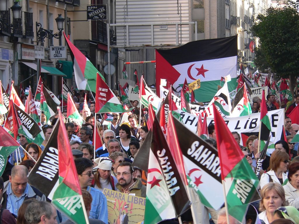 Demonstration in Madrid for human rights in Western Sahara 2006 - Photo: Wikimedia